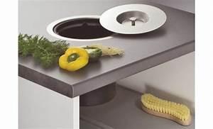 Poubelle De Plan De Travail : poubelle 13 litres inox cuisinesr ngementsbains ~ Melissatoandfro.com Idées de Décoration