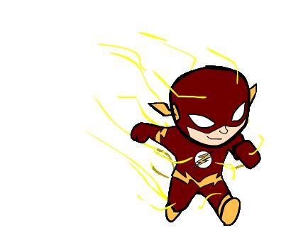 The Flash Animated Wallpaper - the flash run cycle by atarax1c on deviantart