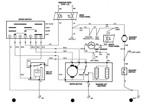 Xj6 Wiper Wiring Diagram by Where Is The Windshield Wiper Relay On 89 Xj S Jag