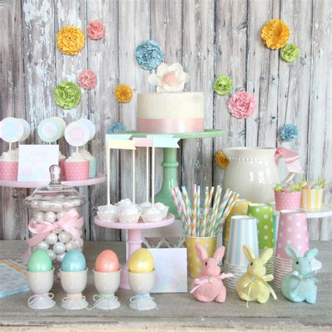 cute pastel easter decorations godfather style