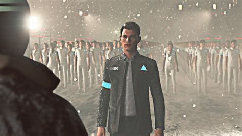 detroit  human connor converts  army
