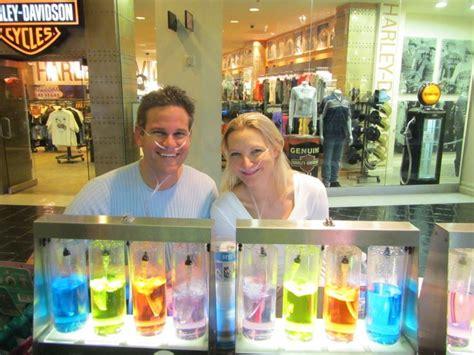 oxygen bar   venetian hotel las vegas world travel