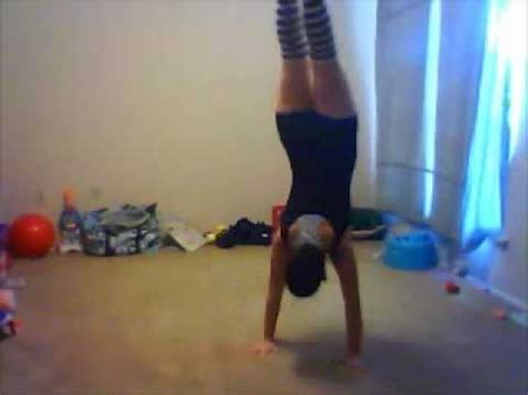 Gymnastics  Fun And Easy Things To Do At Home  Youtube