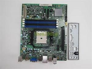 Acer Aspire X1470 48 3fu01 011 Motherboard Foxconn Daa75l O Backplate