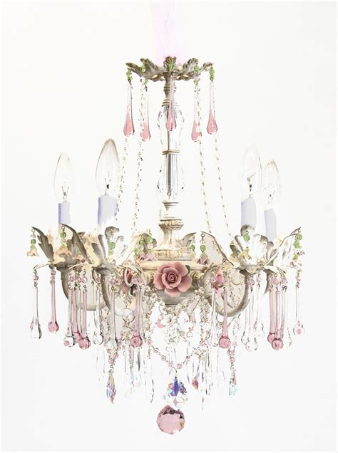 chandelier shabby chic best 25 shabby chic chandelier ideas on