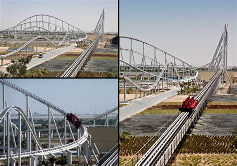 Thrill Seekers: Virtual Ride on Highest Ranked Roller ...