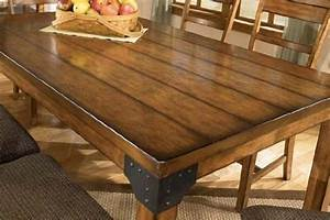 Make A Rustic Dining Table Rustic Dining Room Tables