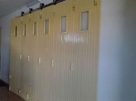 porte de garage coulissante bois clasf