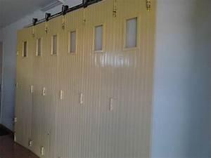 porte de garage coulissante bois clasf With porte de garage en bois coulissante