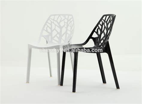 chaise plastique design design moderne chaise en plastique cristal acrylique