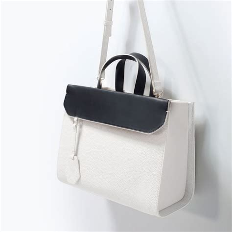 zara city bag with zara everyday city bag womens fashion