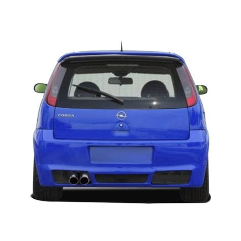 pare choc opel corsa pare choc arriere opel corsa c west store tuning