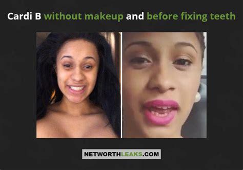 how cardi b teeth use to look do you feel ugly without makeup mugeek vidalondon