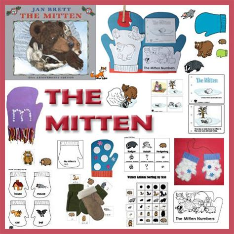 the mitten preschool activities and crafts kidssoup 534 | TheMIttenKS 1