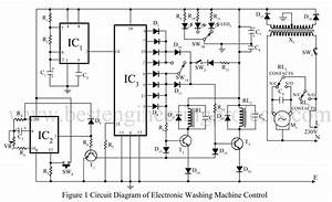 Videocon Washing Machine Circuit Diagram