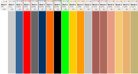 color combinations in color color combinations a site for color nerds