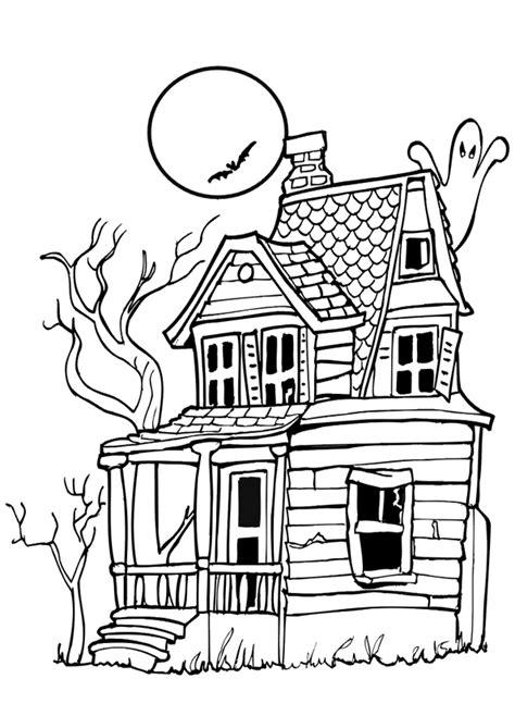 dessin maison de cagne coloriage la maison hant 233 e hugolescargot