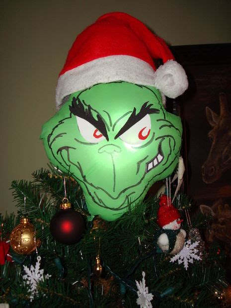 stats christmas trees grinch tree topper