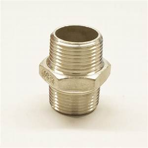 Doppelnippel 1 Zoll : edelstahl fitting doppelnippel 1 1 4 zoll v4a gewindefitting ~ Orissabook.com Haus und Dekorationen