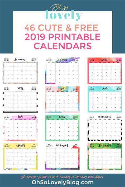 printable calendars thecraftpatchblogcom