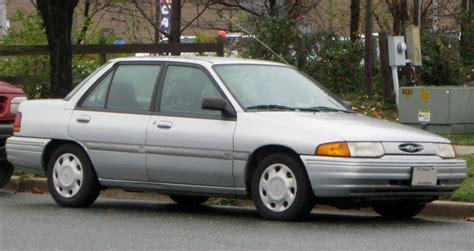 Fileford Escort Lx Sedan  11242009jpg Wikipedia