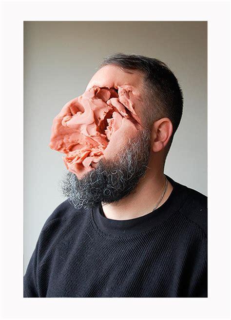 play doh faces mesmerising portraits   meatyard mold