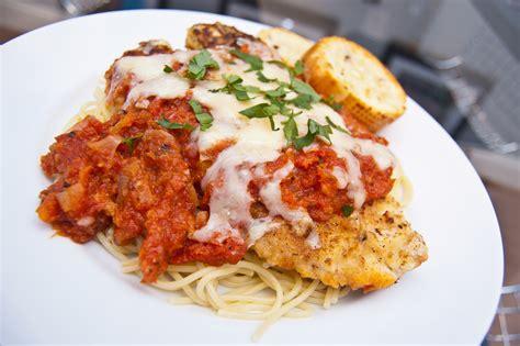 parmesan chicken chicken parmesan recipe dishmaps