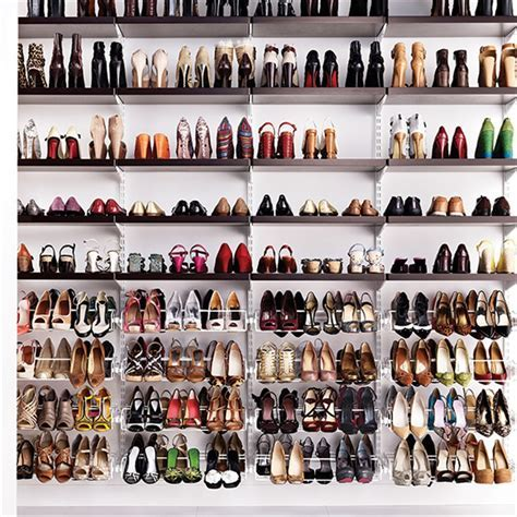 Shoe Racks by elfa storage and shelving for the Lover of