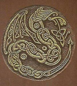 Celtic dragon knot | fantisey | Pinterest