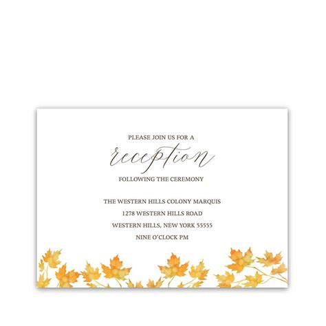 fall wedding invitation Archives Noted Occasions