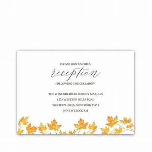 wedding reception card napa valley reception card With images of wedding reception cards