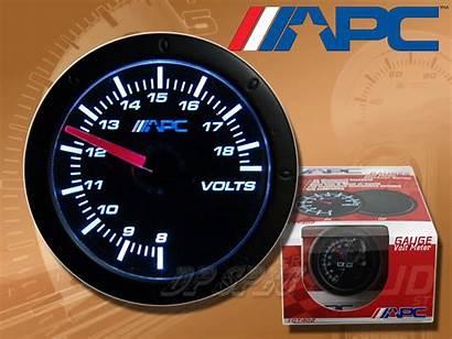 Gauge Meter Volt Voltage 52mm Stealth Apc