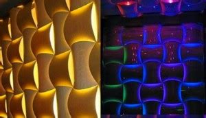awesome 3d decorative wall panels with led lights interior design inspirations