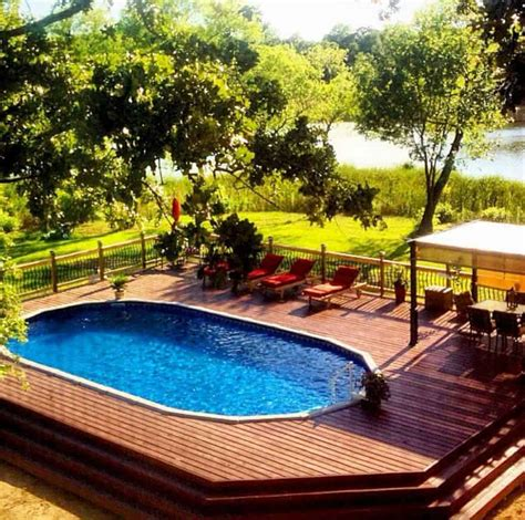 Awe Inspiring  Ground Pools    Backyard Oasis