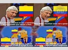 Perú vs Colombia Los memes ya hacen de la suyas