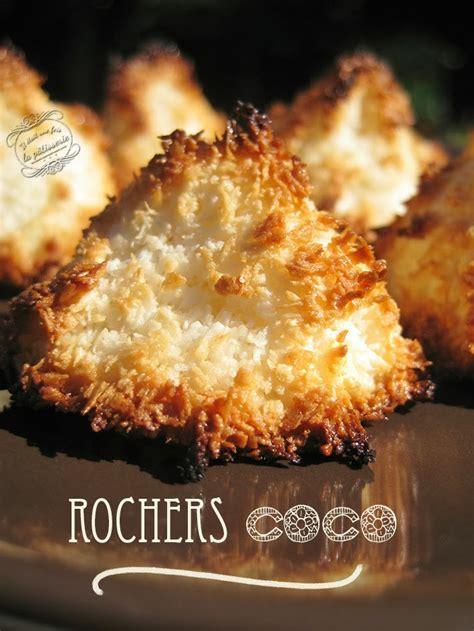 dessert noix de coco rapee recette des rochers noix de coco il 233 tait une fois la p 226 tisserie