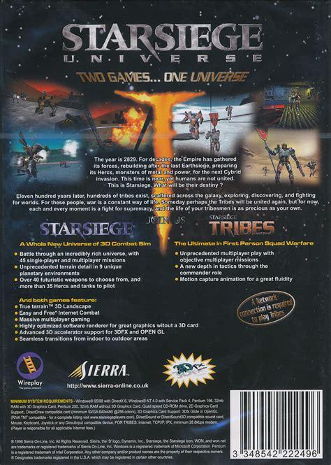 siege software starsiege universe siege tribes pc ebay