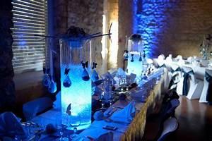 Deco Mariage Bleu Marine : deco mariage bleu ~ Teatrodelosmanantiales.com Idées de Décoration