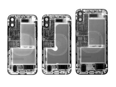 ifixit tear of the iphone xs and iphone xs max finds