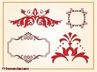 Decorative Vectors Vector Shapes Frames Graphics Freevector