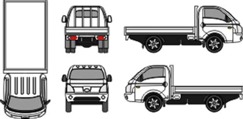 Hyundai H100 Backgrounds by Mr Clipart