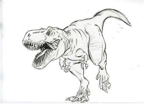 Dinosaurs T Rex Drawing Wwwimgkidcom The Image Kid