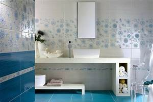 Déco Salle De Bains : carrelage bleu id es d co pour cuisine et salle de bain ~ Melissatoandfro.com Idées de Décoration