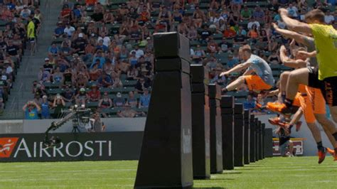 obstacle jump gifs find share  giphy
