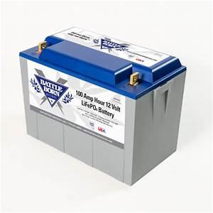 Battle Born Lifepo4 Lithium Battery