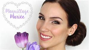 Maquillage De Mariage : maquillage de mari e tutoriel conseils youtube ~ Melissatoandfro.com Idées de Décoration