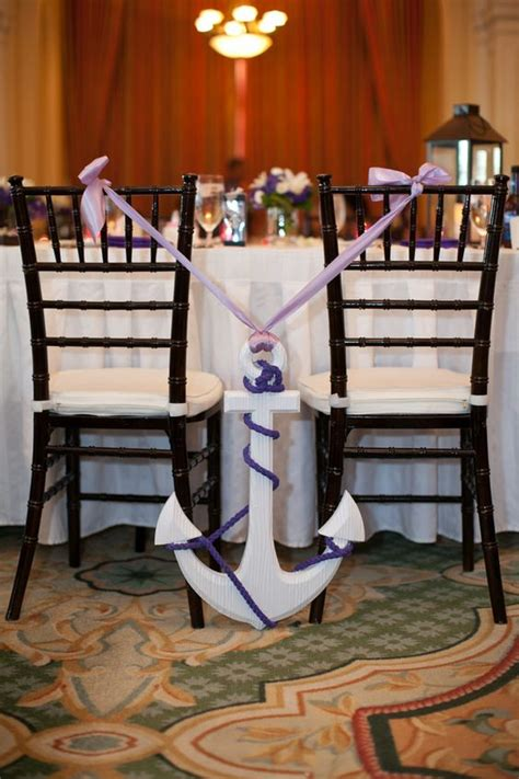ideas  incorporate anchors   nautical wedding