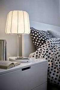 Lampe De Chevet Sans Fil : chargement sans fil la technologie qi dans les meubles ~ Teatrodelosmanantiales.com Idées de Décoration
