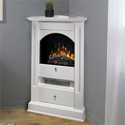 electric fireplace  bookcase small corner electric