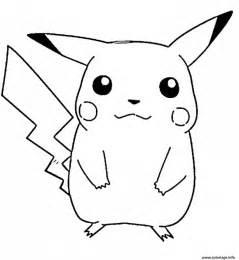 Coloriage Pikachu S Free46ba Dessin